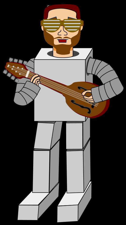 Professor Robot Cartoon Violence