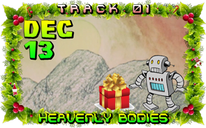 On the first day of Violent Xmas, Cartoon Violence gave to me: Heavenly Bodies!