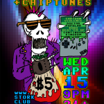 DEATH + CHIPTUNES + TAXES: April 15, Stork Club, Oakland CA