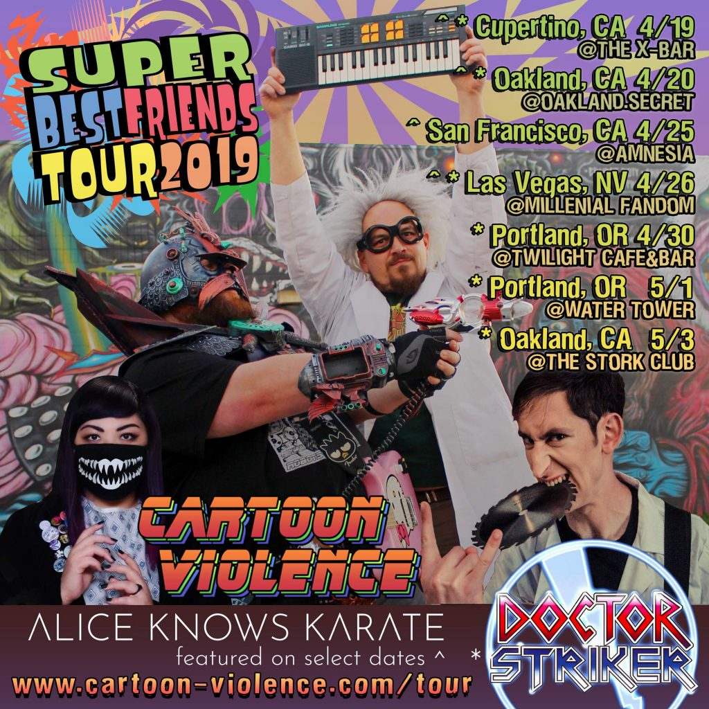 Super Best Friends Tour 2019