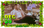On the eighth day of Violent Xmas, Cartoon Violence gave to me: Selfish!