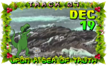 On the seventh day of Violent Xmas, Cartoon Violence gave to me: Upon a Sea of Truth!